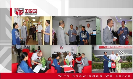 VISIT FROM AIEA IN CONJUNCTION WITH