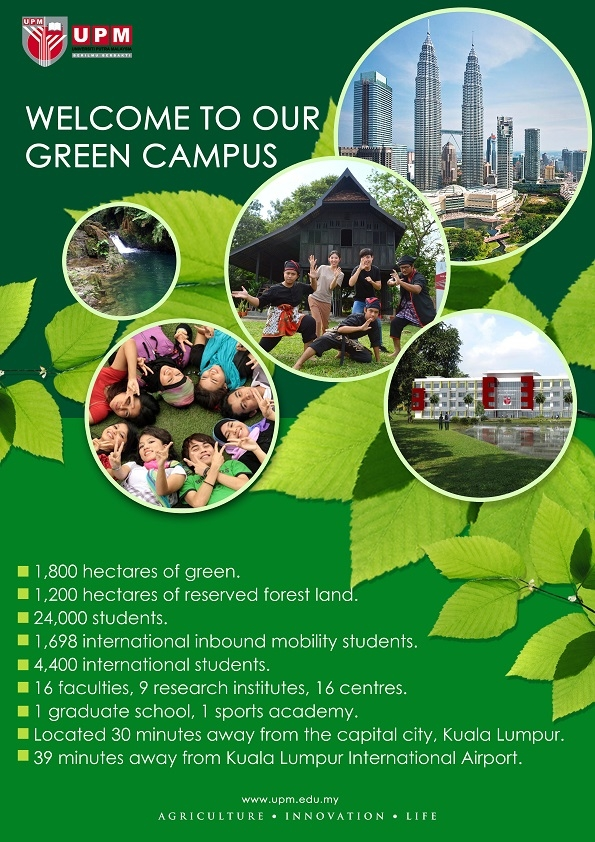 WELCOME TO OUR GREEN CAMPUS